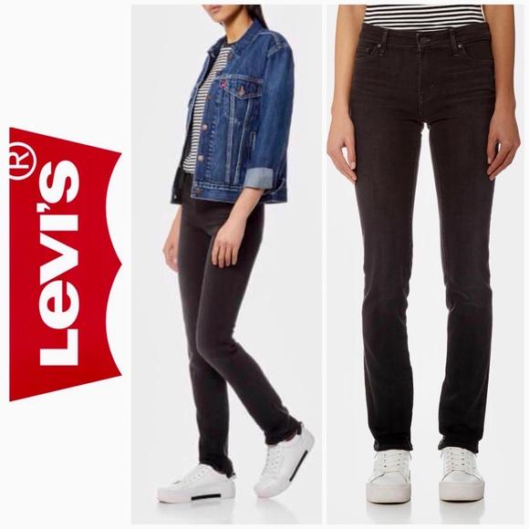 92d125d3 Levi's Jeans | Levis 712 Slim In Soft Black | Poshmark